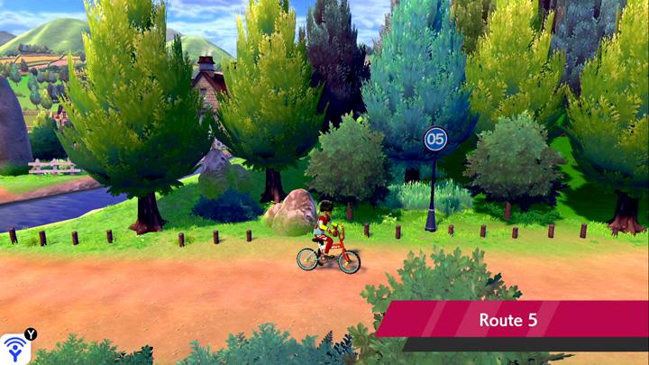 Route 6 Pokémon Épée et Bouclier