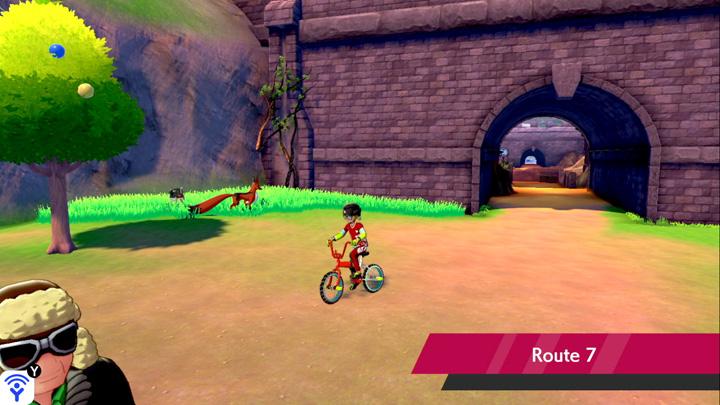 Route 7 Pokémon Épée et Bouclier