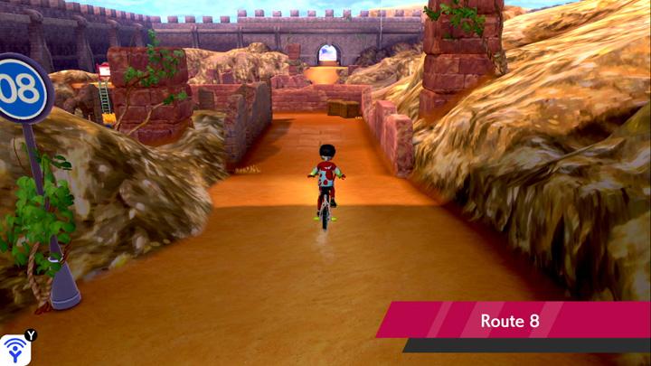 Route 8 Pokémon Épée et Bouclier