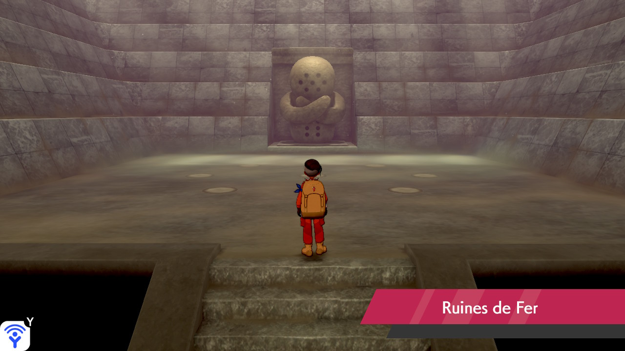 Ruines de Fer Couronneige Pokémon Épée et Bouclier