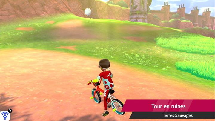 Tour en ruines Pokémon Épée et Bouclier