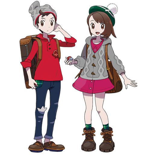 Héros Pokémon Épée et Bouclier