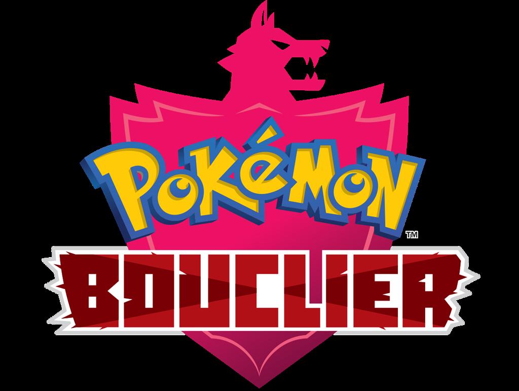 Logo Pokémon Bouclier en français