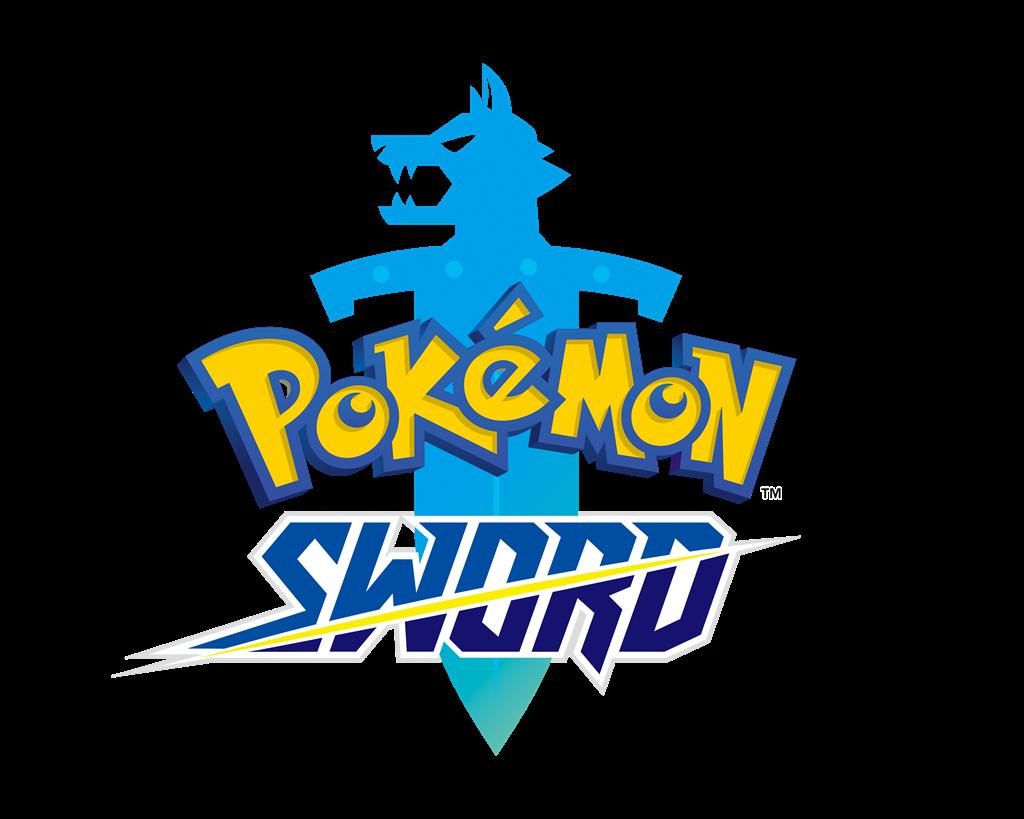Logo Pokémon Épée en anglais