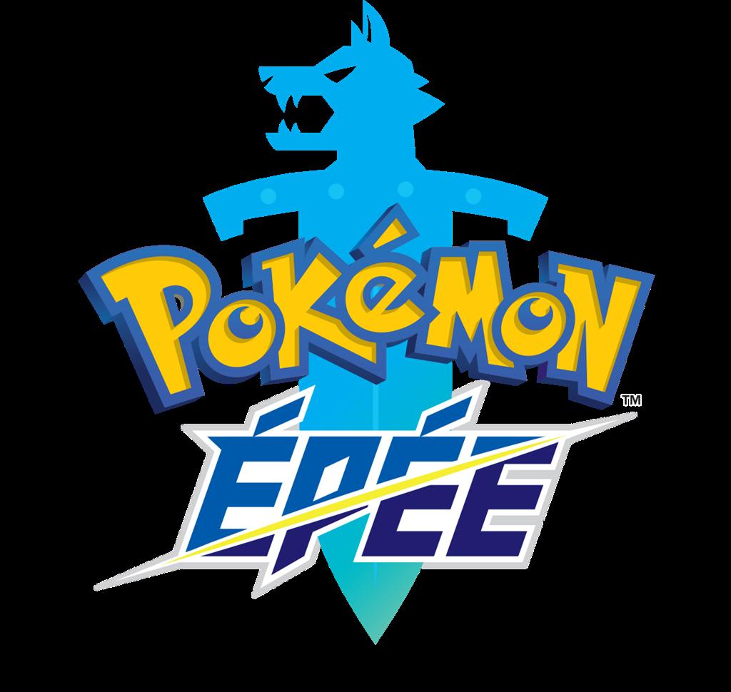 Logo Pokémon Épée en français