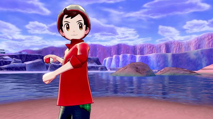 Héro masculin Pokémon Épée et Pokémon Bouclier