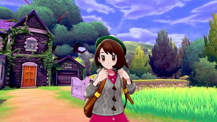 Héro féminin Pokémon Épée et Pokémon Bouclier