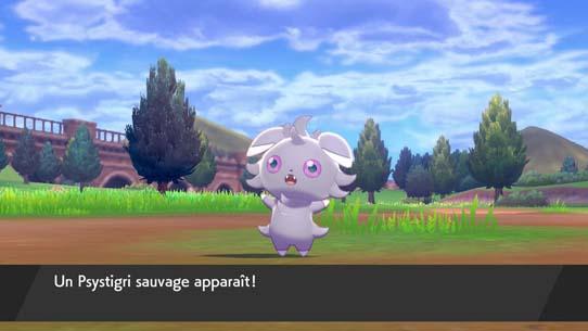 Combat contre les Pokémon Sauvages Pokémon Épée et Bouclier