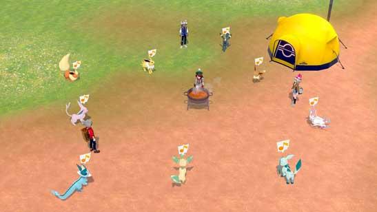 Poké Camping Pokémon Épée et Pokémon Bouclier