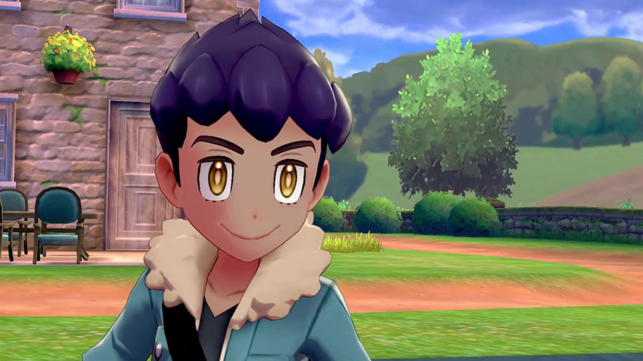 Nabil le Rival Pokémon Épée et Bouclier