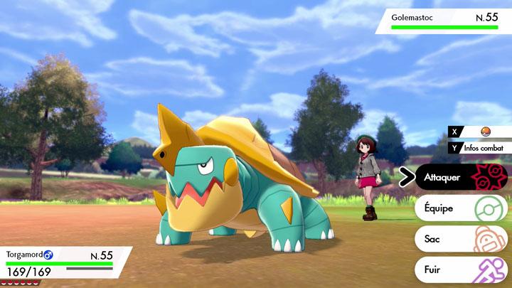 Screenshots Pokémon Direct Pokémon Épée et Bouclier