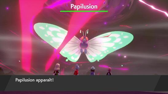 Papilusion Gigamax Pokémon Épée et Bouclier
