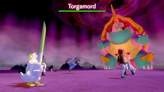 Torgamord Gigamax Pokémon Épée et Bouclier