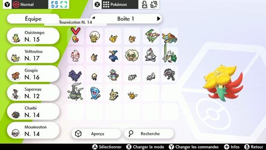 Boîtes PC Pokémon Épée et Bouclier