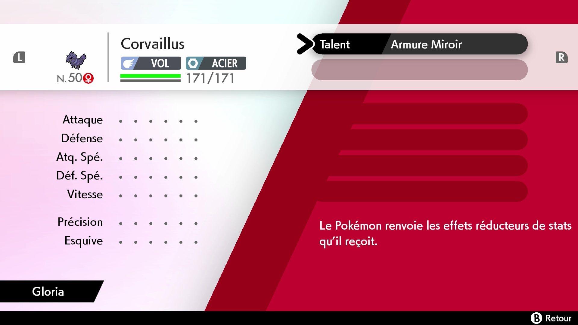 Corvaillus Pokémon Épée et Pokémon Bouclier