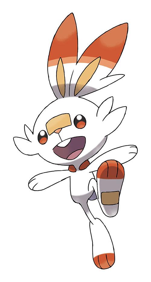 Artwork Starter Flambino - Pokémon Épée et Pokémon Bouclier