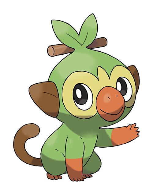 Artwork Starter Ouistempo - Pokémon Épée et Pokémon Bouclier