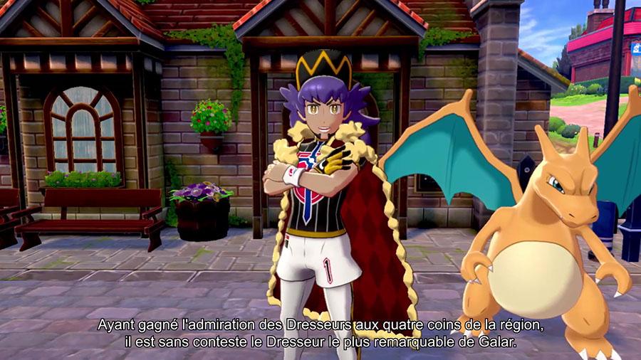 Tarak Maître de Galar Pokémon Épée et Bouclier