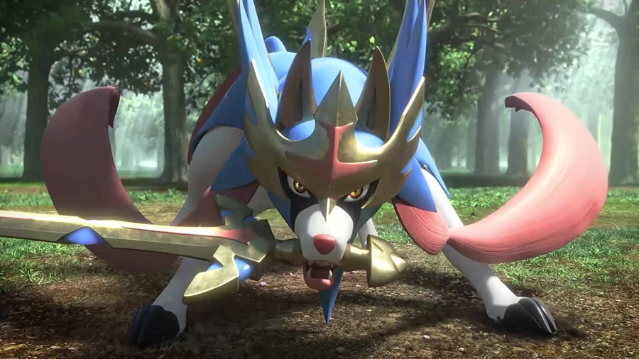 Zacian Pokémon Épée et Bouclier