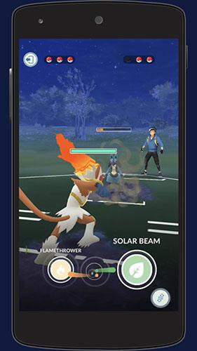 Combat de Dresseur Pokémon GO