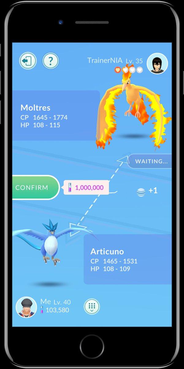 Mise à jour Pokémon Go : amis, cadeaux et échanges au programme