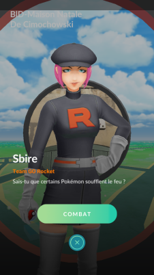 Pokémon GO - Combat Team GO Rocket 1