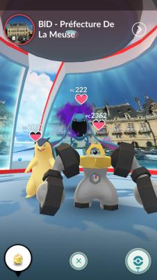 Pokémon GO - Pokémon Purifiés/Obscurs sur le jeu 1