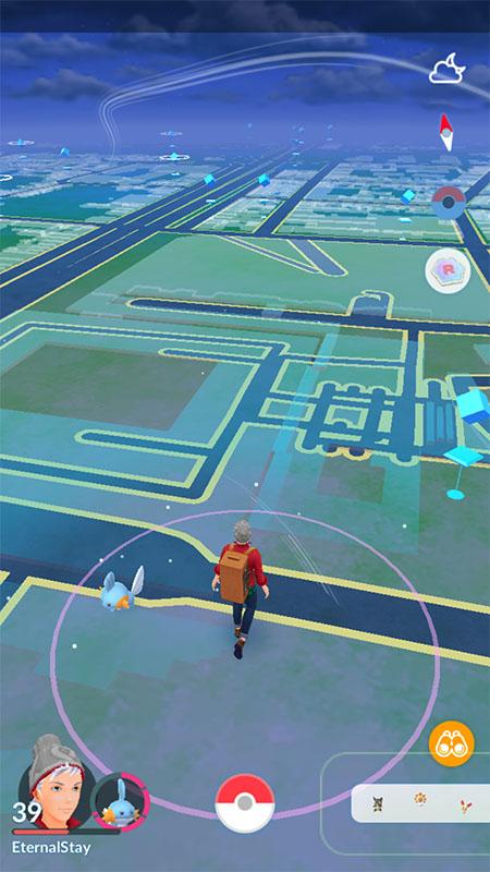 Copain Pokémon Marcher ensemble - Pokémon GO