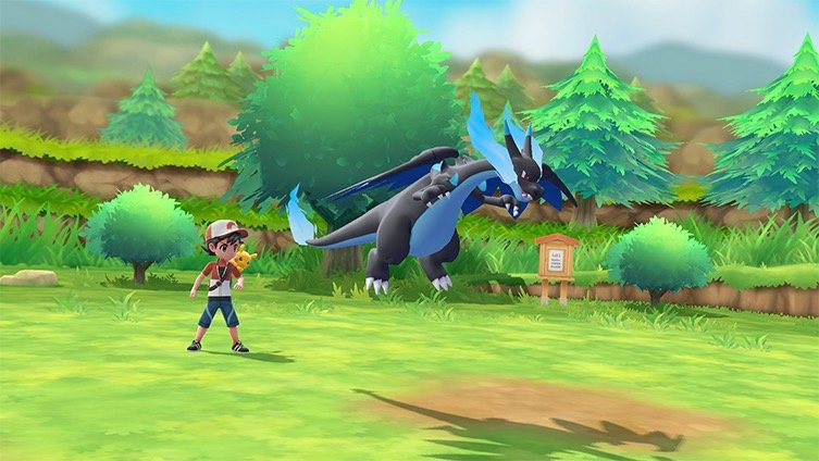 Nouveau trailer Pokémon Let's Go Pikachu et Évoli : Méga-Évolution, Team Rocket et nouveaux personnages
