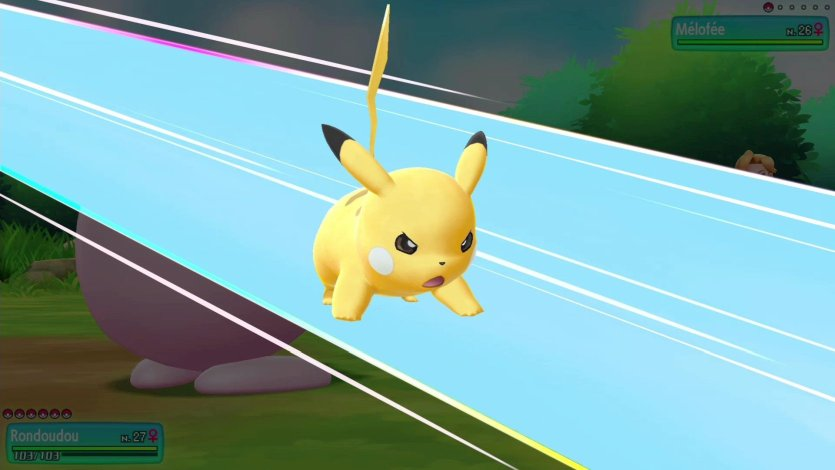 Capacité Spéciale Pika-Fracas Pikachu Pokémon Let's Go Pikachu et Évoli
