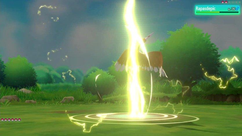 Capacité Spéciale Pika-Splash Pikachu Pokémon Let's Go Pikachu et Évoli