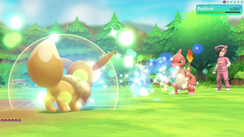 Capacité Spéciale Évoli Pokémon Let's Go Pikachu et Évoli
