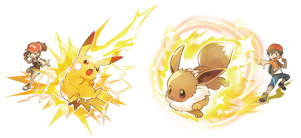 Capacités Spéciales Pokémon Let's Go Pikachu et Évoli