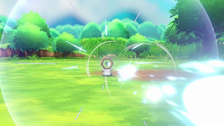 Meltan Pokémon Let's Go Pikachu et Évoli