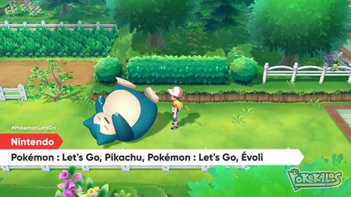 Pokémon Let's Go Pikachu & Évoli : nouveau trailer dans le Nintendo Direct
