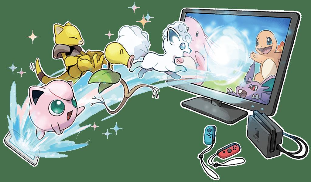 Pokémon et Nintendo Switch Pokémon Let's Go Pikachu et Évoli