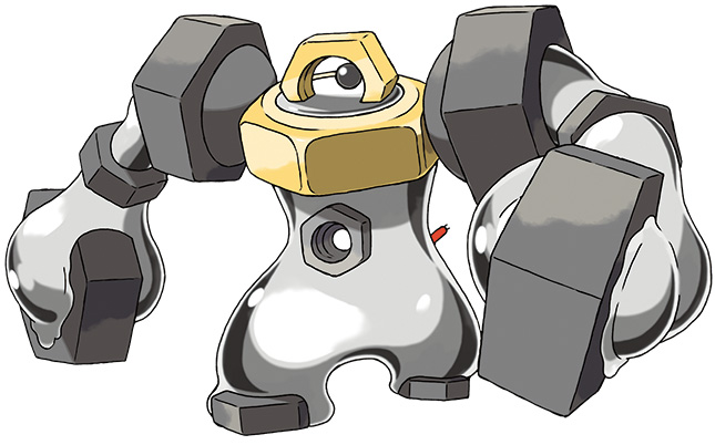 Melmetal Pokémon Let's Go Pikachu et Évoli