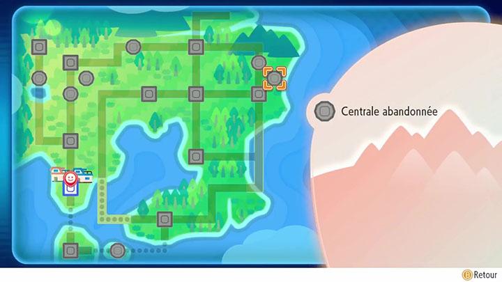 Centrale abandonnée Pokémon Let's Go Pikachu et Évoli