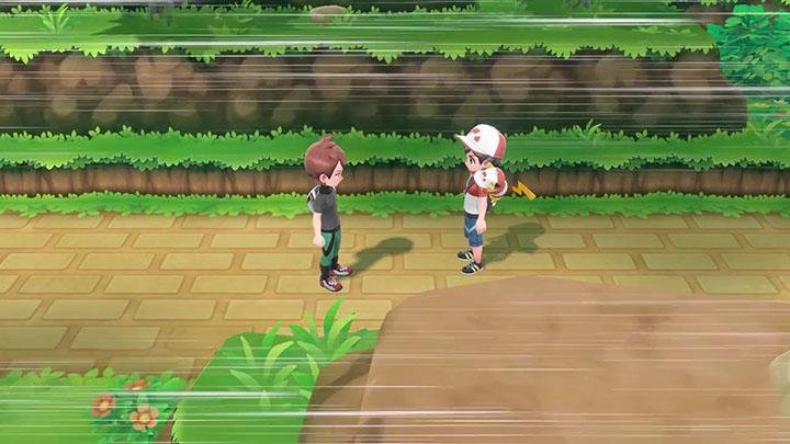 Rival Pokémon Let's Go Pikachu et Évoli