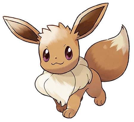 Starter Évoli Pokémon Let's Go Pikachu et Pokémon Let's Go Évoli