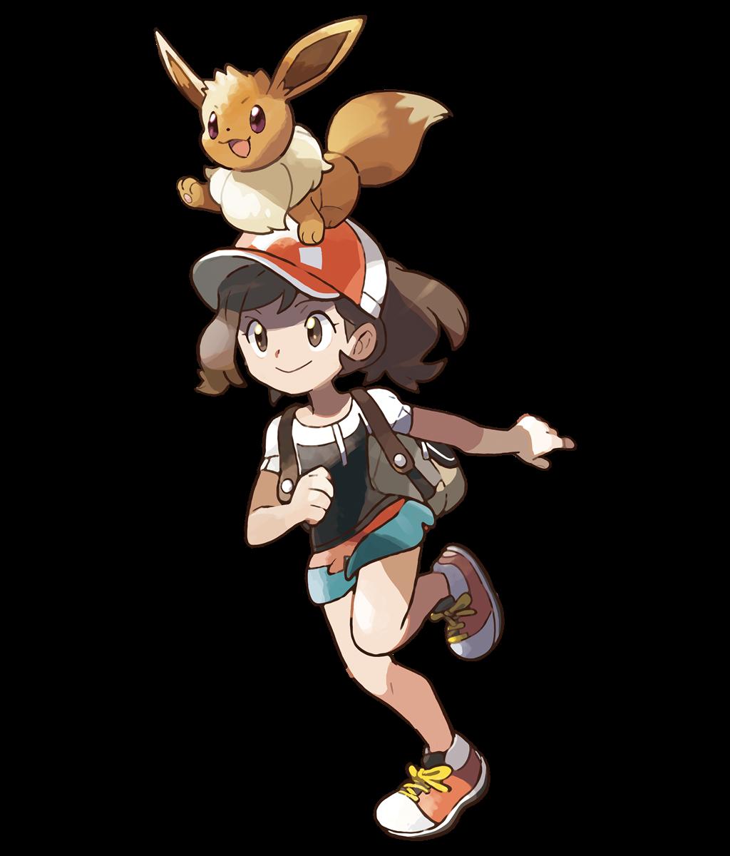 Héros Pokémon Let's Go Pikachu et Pokémon Let's Go Évoli