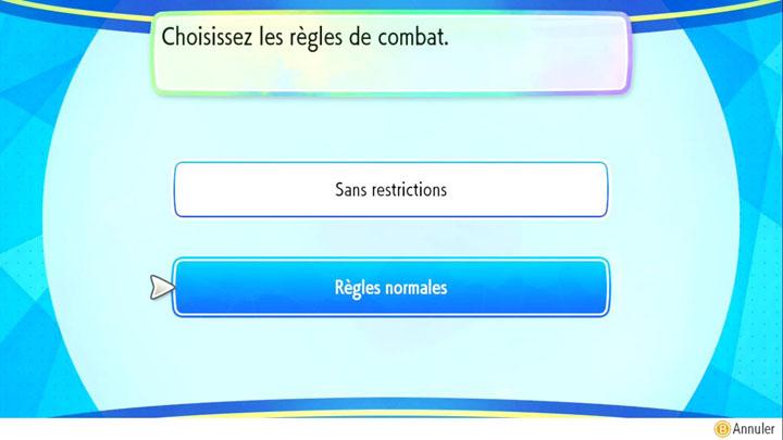 Combats en ligne sur Pokémon Let's Go Pikachu et Let's Go Évoli