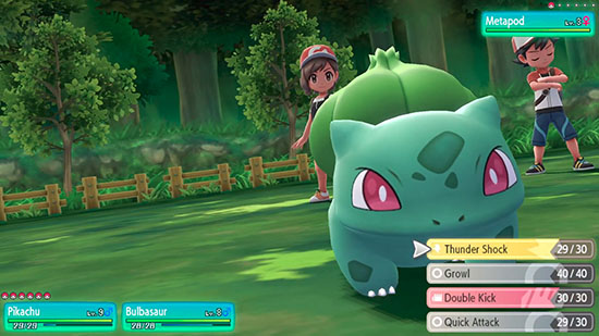 Mode Co-Op Pokémon Let's Go Pikachu et Évoli