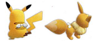 Accessoire Foulard Blanc Let's Go Pikachu et Let's Go Évoli