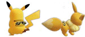 Accessoire Foulard Safari Let's Go Pikachu et Let's Go Évoli