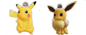 Chapeau Taupiqueur Let's Go Pikachu et Let's Go Évoli