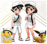 Tenue Assistant Pokémon Let's Go Pikachu et Let's Go Évoli
