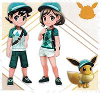 Tenue Givrali Pokémon Let's Go Pikachu et Let's Go Évoli