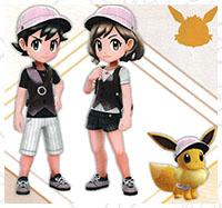 Tenue Mentali Pokémon Let's Go Pikachu et Let's Go Évoli