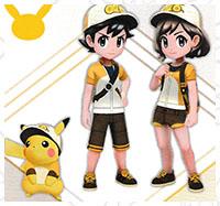 Tenue Raichu Pokémon Let's Go Pikachu et Let's Go Évoli